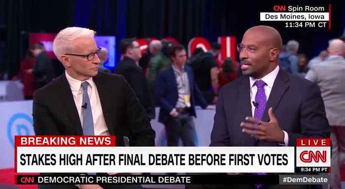 CNN's Van Jones found Democratic debate 'dispiriting'