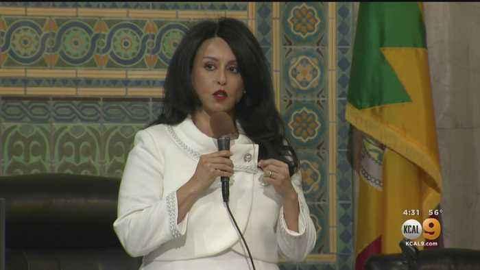 Nury Martinez Makes History As LA's First Latina City Council President