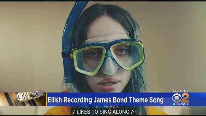 Eye On Entertainment: Billie Eilish Recording James Bond 'No Time To die' Theme Song