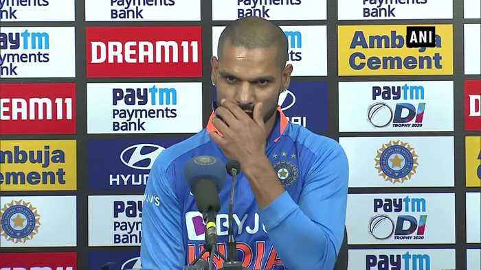 Ind vs Aus Shikhar Dhawan talks about devastating loss in 1st ODI