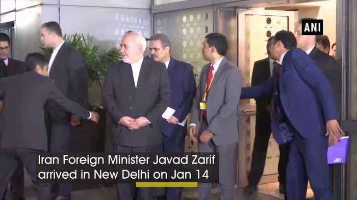 Iran Foreign Minister arrives in India amid tensions with US