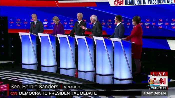 Dems Battle In Final Debate Before Iowa Caucuses