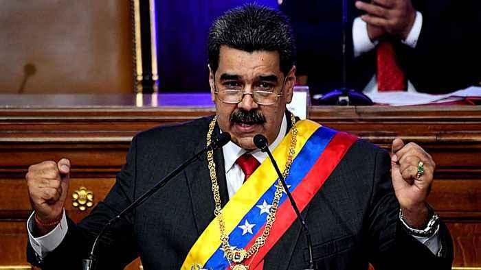 Venezuela's Maduro gives State of the Union address