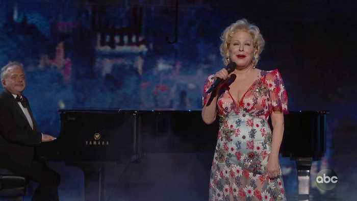 Bette Midler Sings 'The Place Where Lost Things Go'
