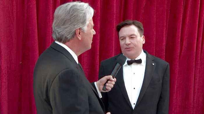 Mike Myers on the Oscars 2019 All Access Red Carpet
