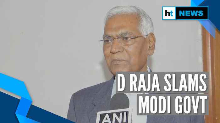 'Why can't govt release Farooq, Mehbooba if situation is normal in J&K?': D Raja
