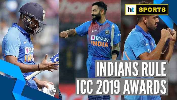 ICC awards: Rohit Sharma wins ODI player of the year, Kohli 'Spirit of Cricket'