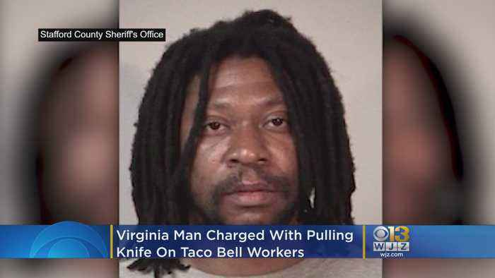 Virginia Man Charged With Pulling Knife On Taco Bell Workers