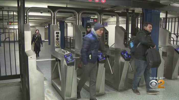 Off-Duty Officer Attacked With Bike Chain In Subway