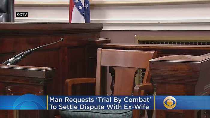 Man Requests 'Trial By Combat' To Settle Legal Dispute With Ex-Wife