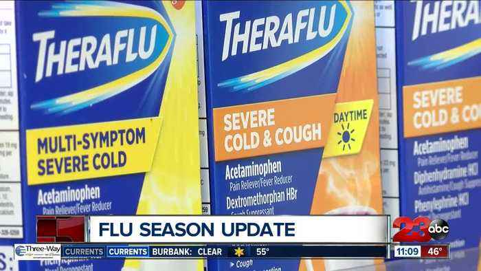 CDC reports high flu activity in California