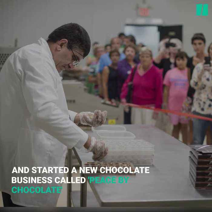 Syrian Chocolatier Becomes A Canadian