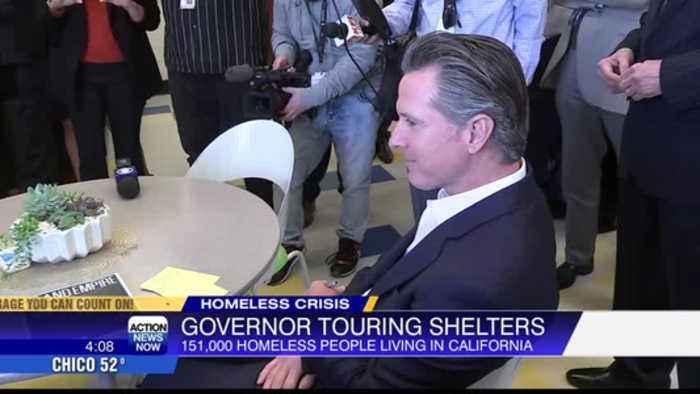 Gov. Newsom promotes $1B housing plan for homeless on week-long tour
