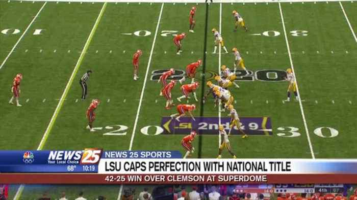 LSU caps perfection with national title