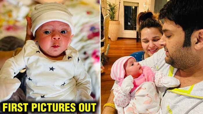 First Pictures Of Kapil Sharma And Ginni Chatrath's ADORABLE Baby Girl Out!