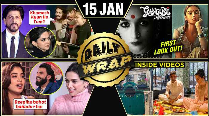 Alia's Gangubai Kathiawadi Posters, SRK INSULTED For CAB, Janhvi Praises Deepika   Top 10 News