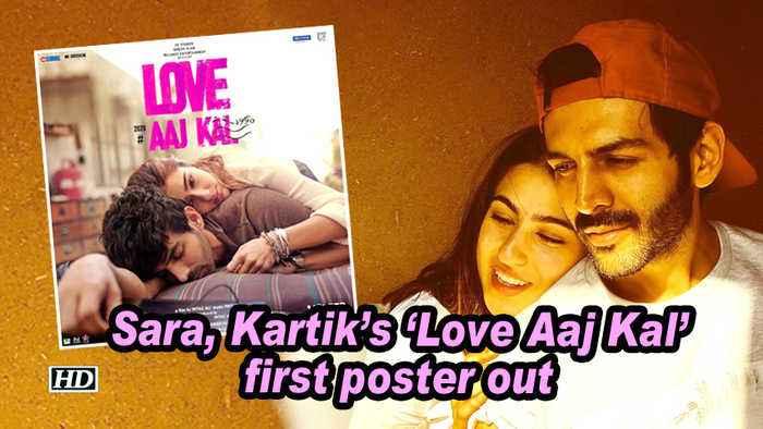 Sara, Kartik's 'Love Aaj Kal' first poster out