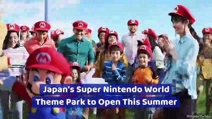 Japan's Super Nintendo World Theme Park to Open This Summer
