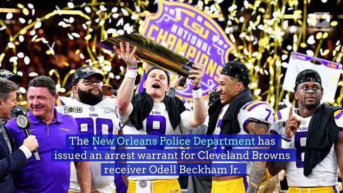 Arrest Warrant Issued for Odell Beckham Jr.