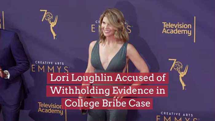 An Update On The Lori Loughlin Case