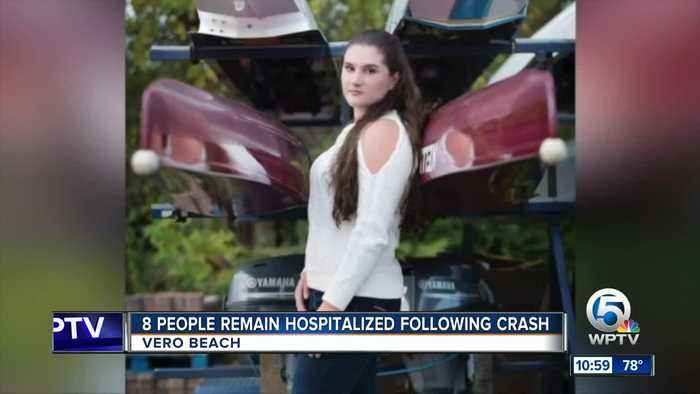 8 people still hospitalized after Vero Beach crash claims life of Holy Cross rowing star