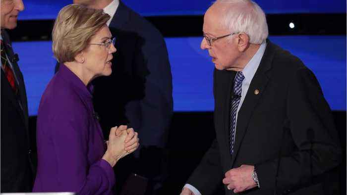 Bernie Sanders Says 'Weather' Was All He And Warren Discussed After Debate