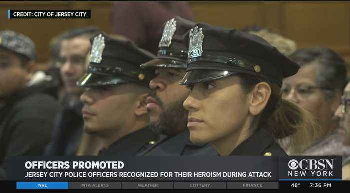 Jersey City Police Officers Recognized For Their Heroism During Shootout