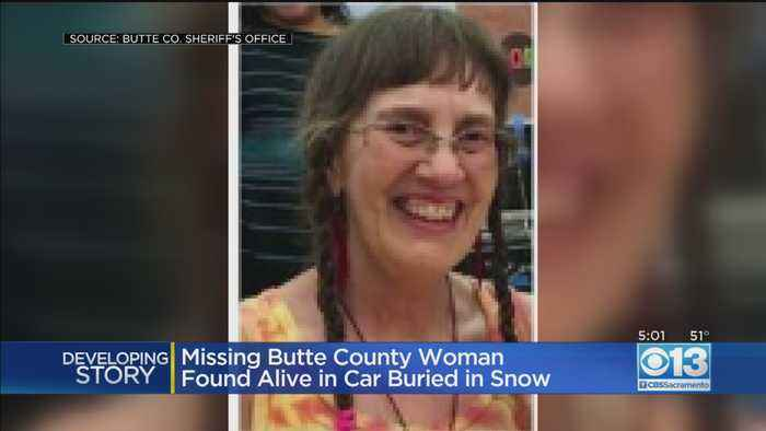 Missing Butte County Woman Found Alive In Car Buried In Snow