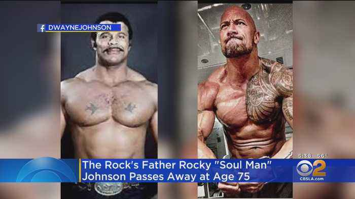 WWE Hall of Famer Rocky Johnson, Father Of Dwayne 'The Rock' Johnson, Dead At 75