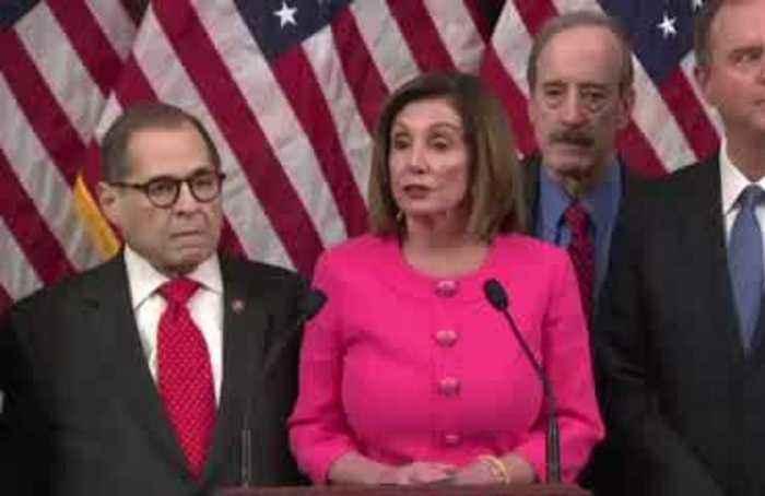 Democrats deliver impeachment articles to Senate