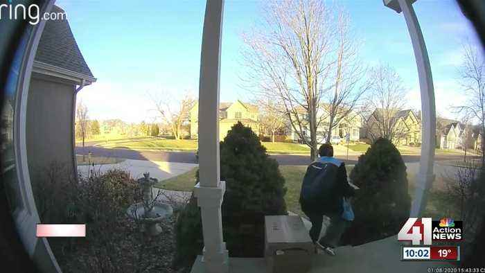 Police search for thieves who pose as Amazon drivers, steal packages