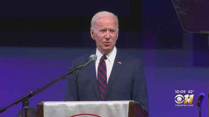 Former Vice President Joe Biden Brings Democratic Presidential Campaign To Arlington