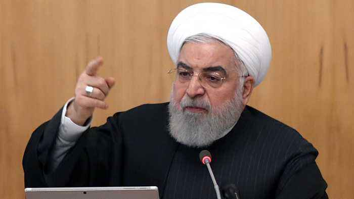 Rouhani warns foreign forces in Middle East 'may be in danger'