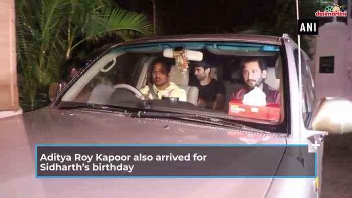 Sidharth Malhotra celebrates 35th birthday