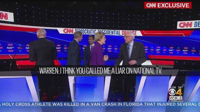 Elizabeth Warren Accused Bernie Sanders Of Calling Her A 'Liar On National TV'