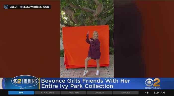 Beyonce Sends Ivy Park Swag