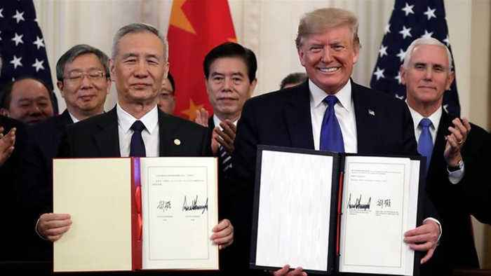 Sceptics cast doubts on first phase of US-China trade deal