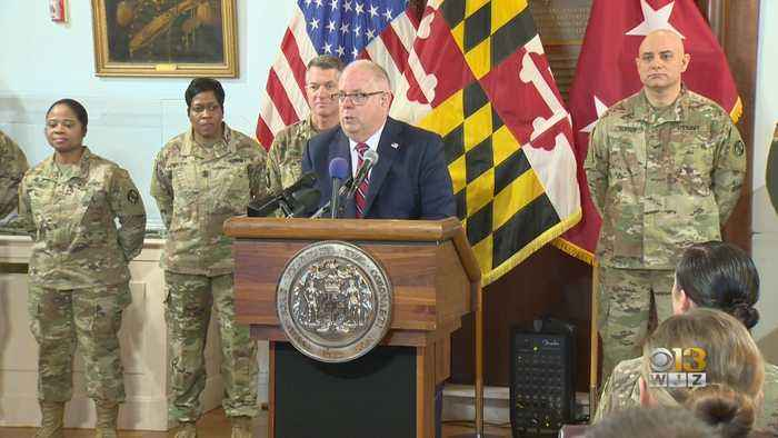 Maryland Gov. Larry Hogan Proposes Two Bills That Would Help National Guardsman, Veterans With Taxes, Jobs, Tuition