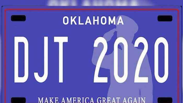 OK State Senator Proposes 'MAGA' License Plate