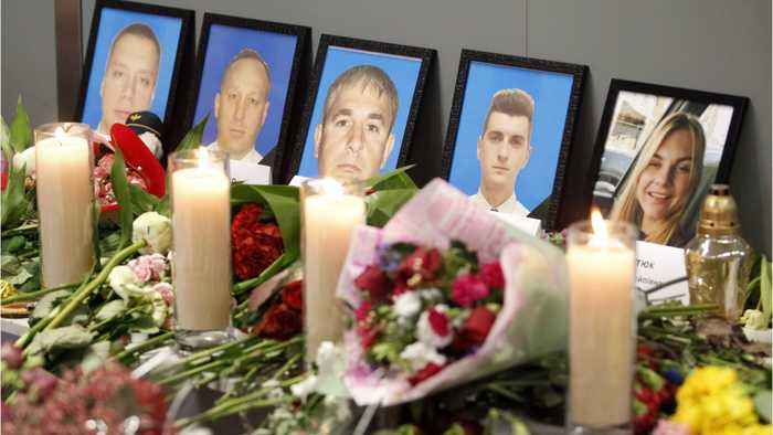 Bodies Of All 11 Ukrainians In Iran Plane Crash To Be Returned Home