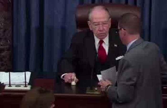 Senate passes USMCA, sends to Trump for approval