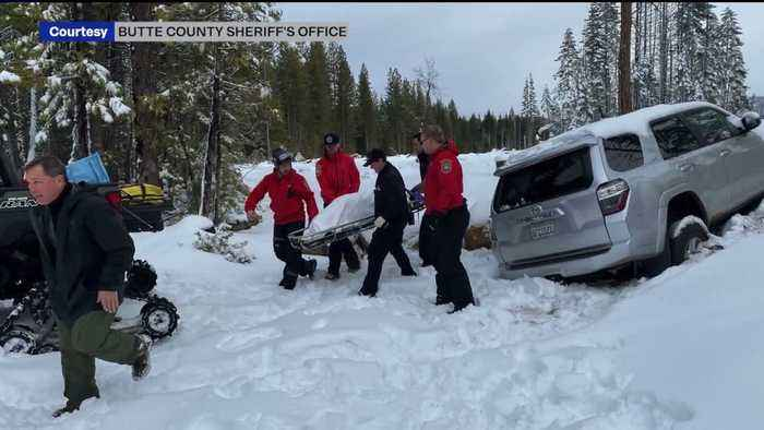 After 6 Days, California Woman Found Alive in SUV Buried in Snow