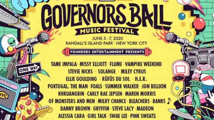Governors Ball 2020 lineup revealed