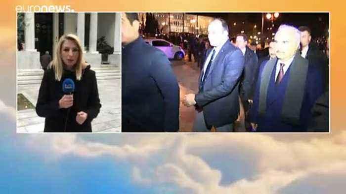Libya's Haftar holds talks in Athens ahead of Berlin summit