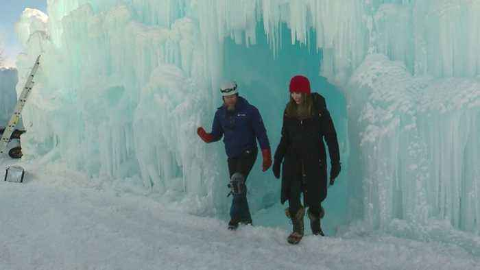 Ice Castle, Pond Hockey Organizers Cheer On Cold