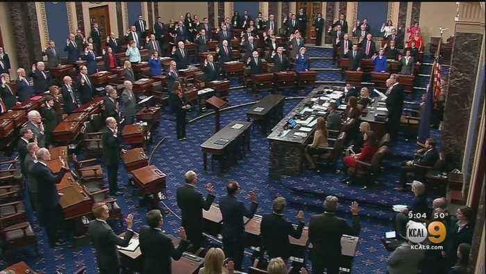 Senators Sworn In As Impeachment Trial Begins