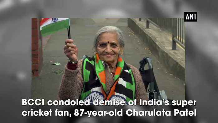 India's 87 year-old super fan Charulata Patel passes away BCCI condoles demise