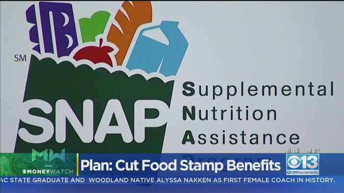 Moneywatch: States Sue Trump Over Plan To Cut Food Stamp Benefits