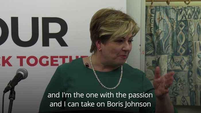 Emily Thornberry launches Labour leadership bid