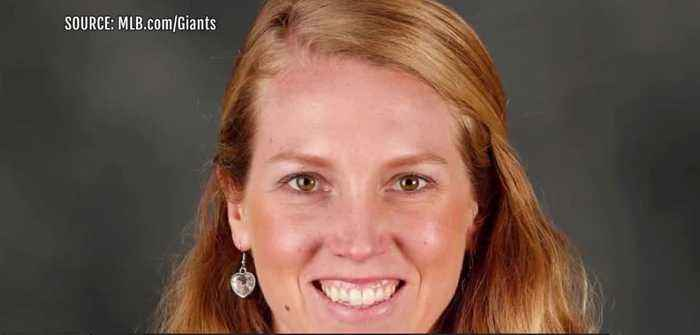 SF Giants hire first female MLB coach